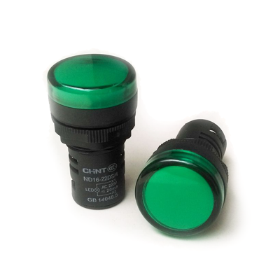 SINALIZADOR 22mm MULTILED 230V VERDE